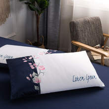Envelope pure 100% cotton pillow case pillowcase for healthy