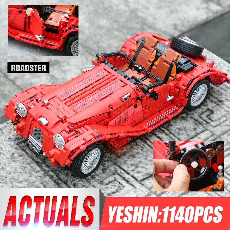 Yeshin Jalopy Roadster 1141PCS Classic Car Creator Technic Model Building Blocks Bricks City Models DIY Toys