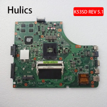 Hulics – carte mère originale pour ordinateur portable Asus K53E K53SD REV 5.1, 2G