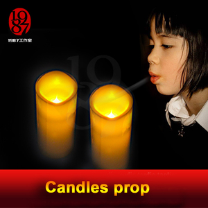 Image 2 - Real life escape room game propTAKAGISM game prop blow candles out or up in order blow sensor blow on the lamps to open the door