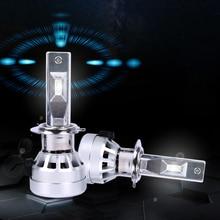 Lsrtw2017 LED Car Headlight High Beam Light Low Bulb for Skoda Kodiaq GT Karoq Interior Accessories