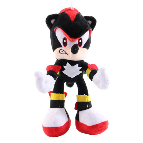 25-27cm Sonic Anime Figures Toy Plush Toy Sonic Shadow Tails Characters Figure Toys For Children Animals Toys