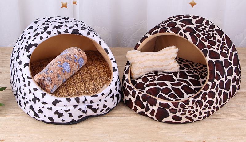 Pet Bed House-Eco-Dogs and Cats indoor Bed-