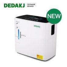 DEDAKJ DE-2SW 2L-9L Concentrateur D'oxygène À Domicile Portable Oxygène Machine 90% Haute Concentration Générateur D'oxygène Nébuliseur