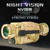 NV0535 Night vision 5X Infrared Digital Camera Vedio 200m Range Monocular Scope For Hunting tactical infrared night vision