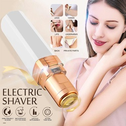 Lady Electric Lipstick Shaver Smooth Painless Women Epilator Body Hair Remover Trimmer Depilator Removable Multi-Part Trim
