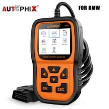 Autophix 5900 Professional Obd 2 Car Diagnostic Tool EPB ETC BMS Reset Multilingual Code Reader Obd2 Automotive Scanner For BMW