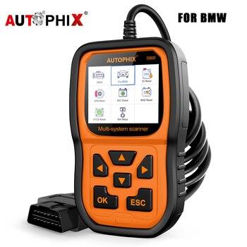 Autophix 5900 profesjonalne narzędzie diagnostyczne do samochodów Obd 2 EPB itp BMS Reset wielojęzyczny czytnik kodów skaner samochodowy Obd2 dla BMW