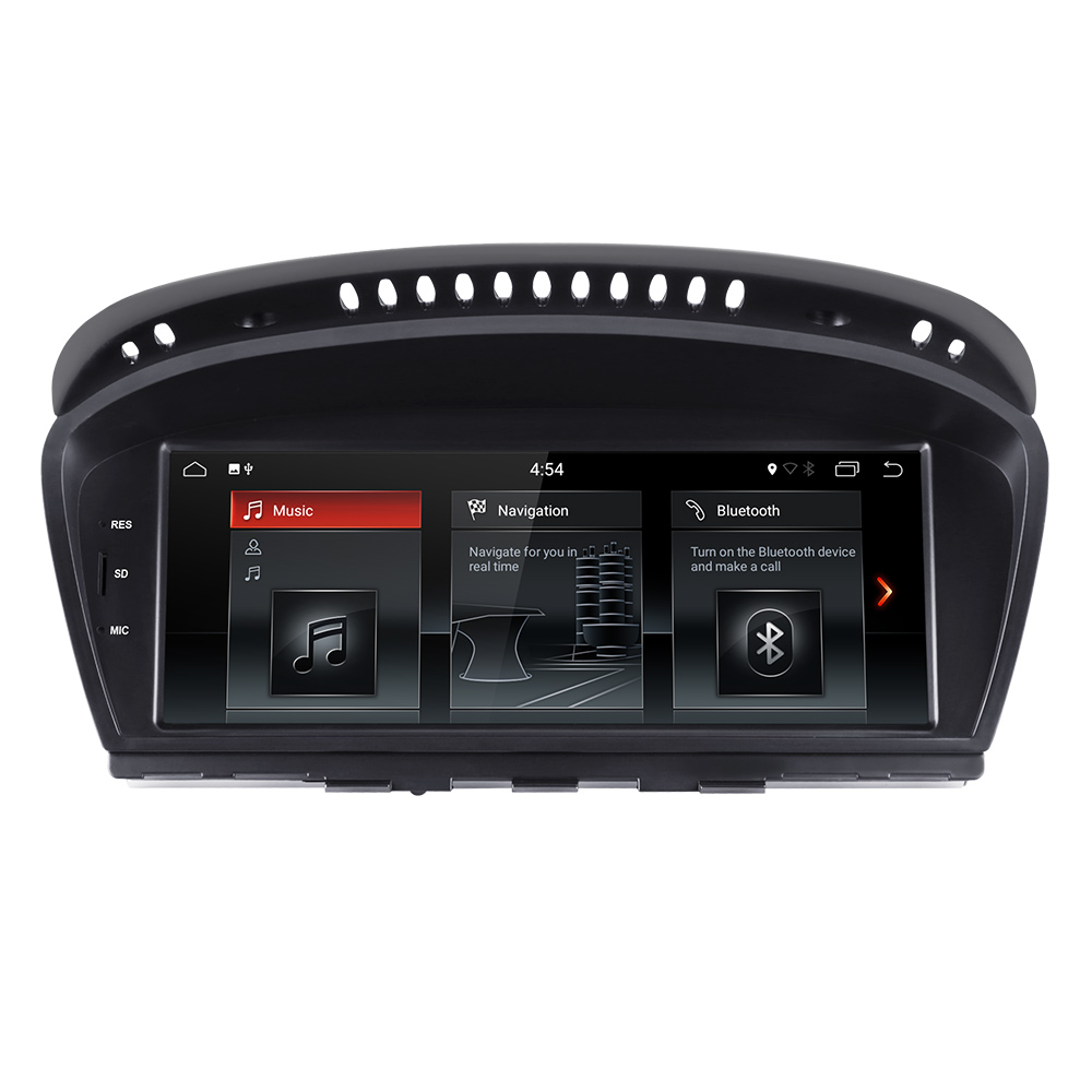 Android 8.1 car multimedia player for BMW 5 series E60 E61 E62 E63 3 series <font><b>E90</b></font> E91 CCC/CIC system autoradio <font><b>gps</b></font> navigation IPS image