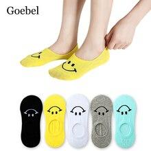 5 пар/лот = 10 штук женские носки-невидимки из хлопка силиконовые неглубокие женские носки летние короткие носки для женщин