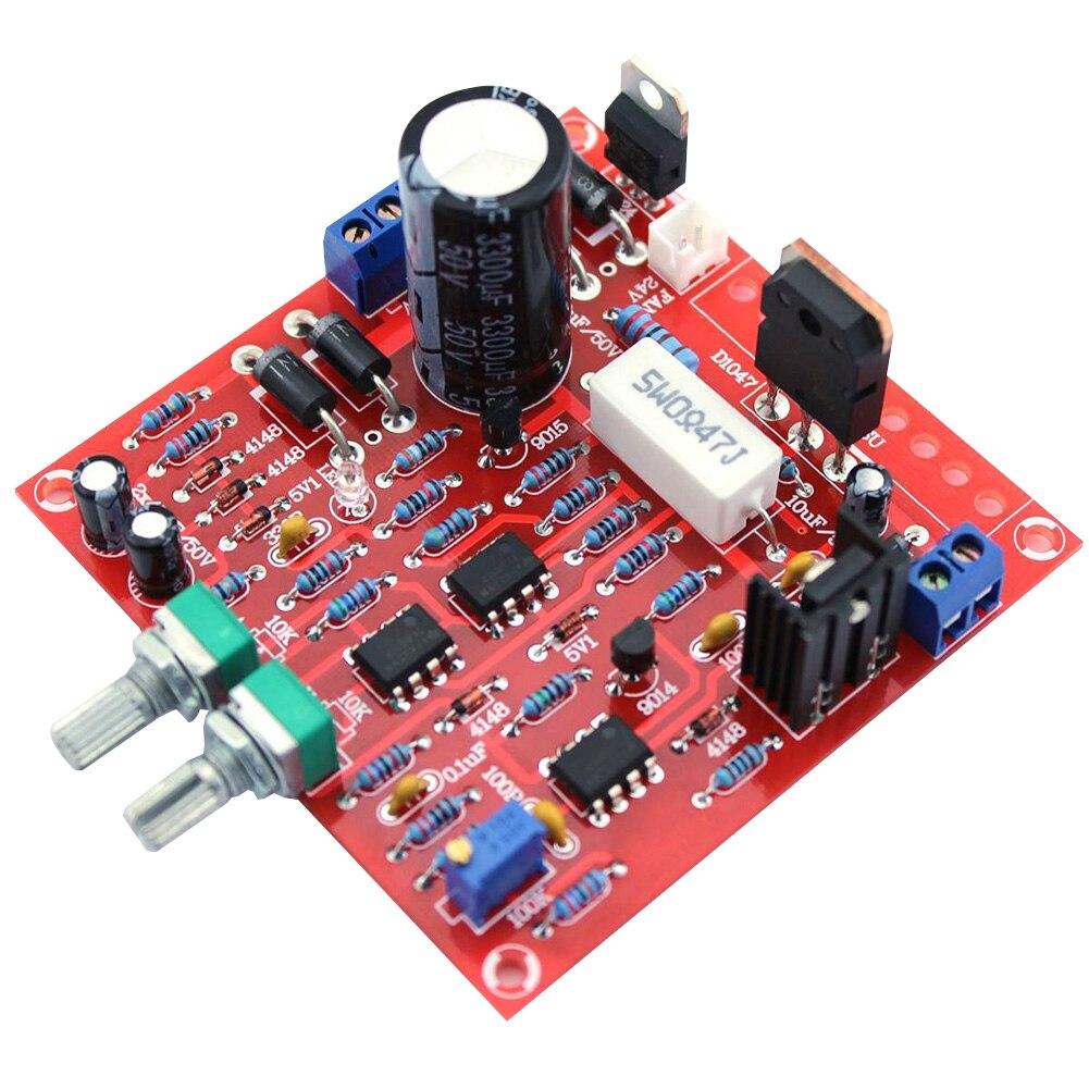 US $4.55 19% СКИДКА|0 30 в 2mA 3A источник питания DIY Защита тока Регулируемый инструмент Аксессуары модуль DC Регулируемый PCB лабораторный светодиодный дисплей прочный|Регуляторы напряж./стабилизаторы| |  - AliExpress