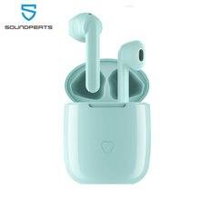 Soundpeats bluetooth sem fio earbudstouch controle fones de ouvido aptx codec cvc cancelamento ruído 30hrs playtime