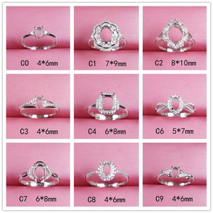 oval shape adjustable ring bas