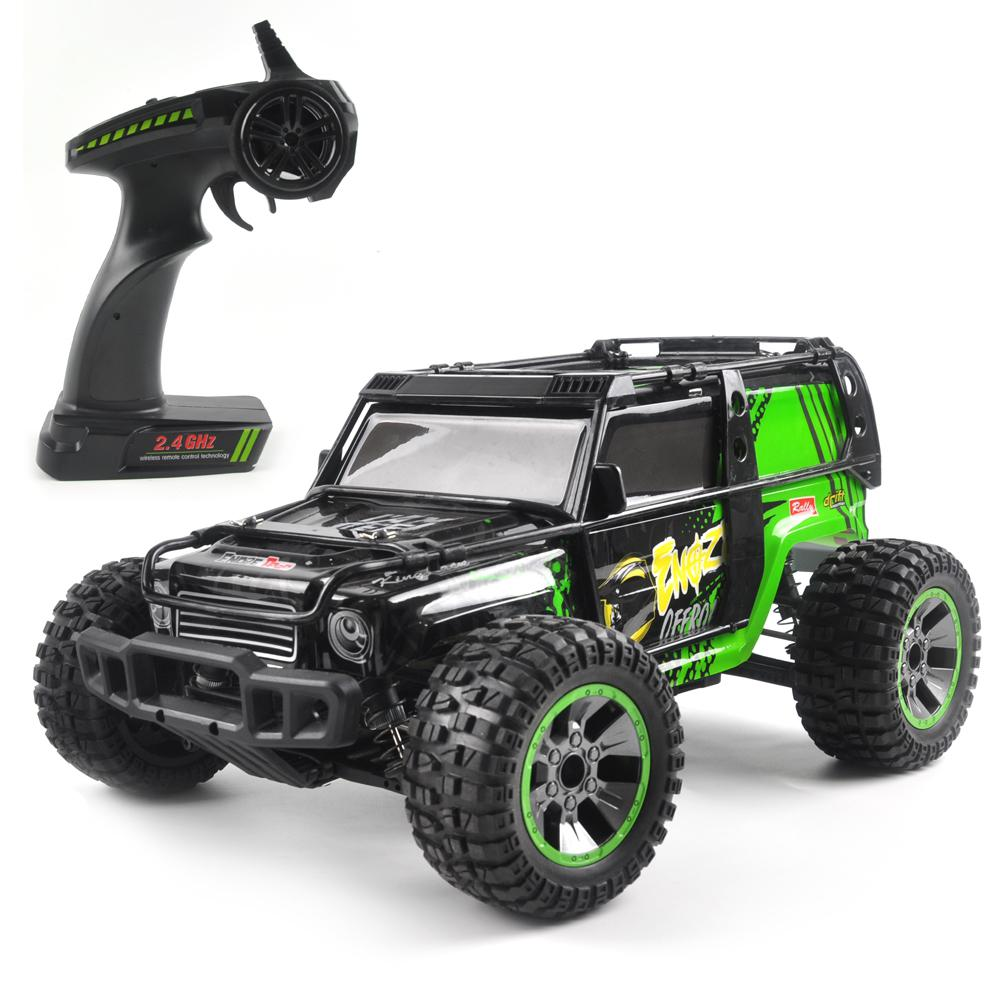 LeadingStar 9204E RC Car 1/10 4WD 2.4G 35KM/H High Speed RC Car Remote Control Truck Toys Desert Crawler Car