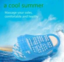 Пластиковые массажные тапочки для ванны и душа обувь щетка пемза