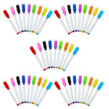 45Pcs Professional and Durable Markers Built In Eraser School Supplies