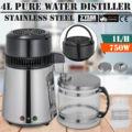 750 Вт 4L очиститель воды дистиллятор 1 галлон Премиум столешница 1 5 л/ч
