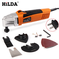 HILDA Oscillating Multi Tools Renovator Tool Oscillating Trimmer Home Trimmer woodworking Tools Multi Function Electric Saw