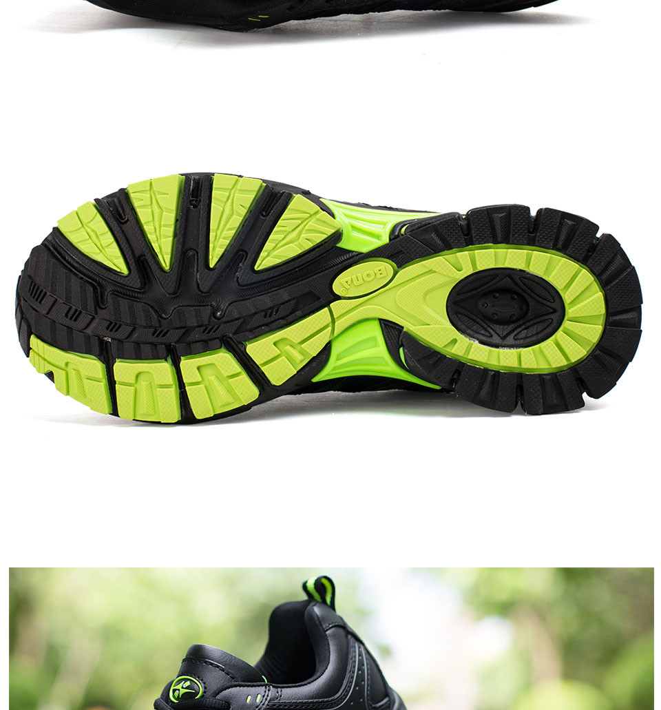 Hc314c187669d49478fbda89ba9a0117bp BONA 2019 New Designers Casual Shoes Men Style Cow Split Sneakers Male Lightweight Outdoor Fashion Footwear Man Trendy Comfy