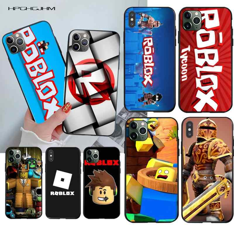 Hpchcjhm Popular Game Roblox Logo Printing Phone Case Cover Shell