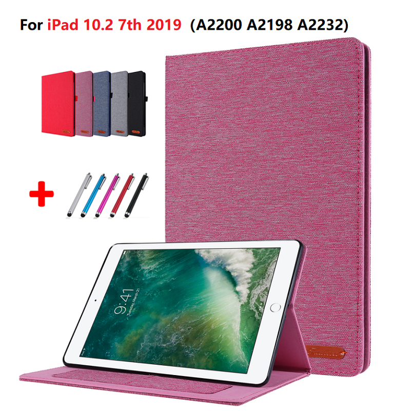 Random one Gold Funda For iPad 7th Generation Case for Apple iPad 10 2 2019 A2197 A2198 A2200 A2232