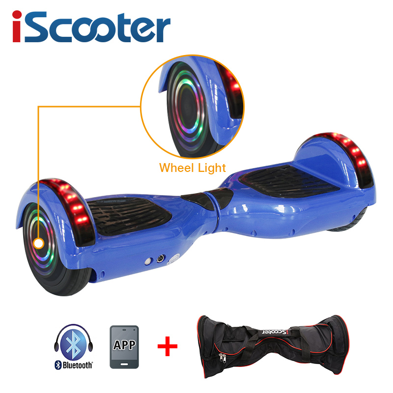 iScooter Self Balancing Hoverboard or two-wheel Skateboard with LED Light 8