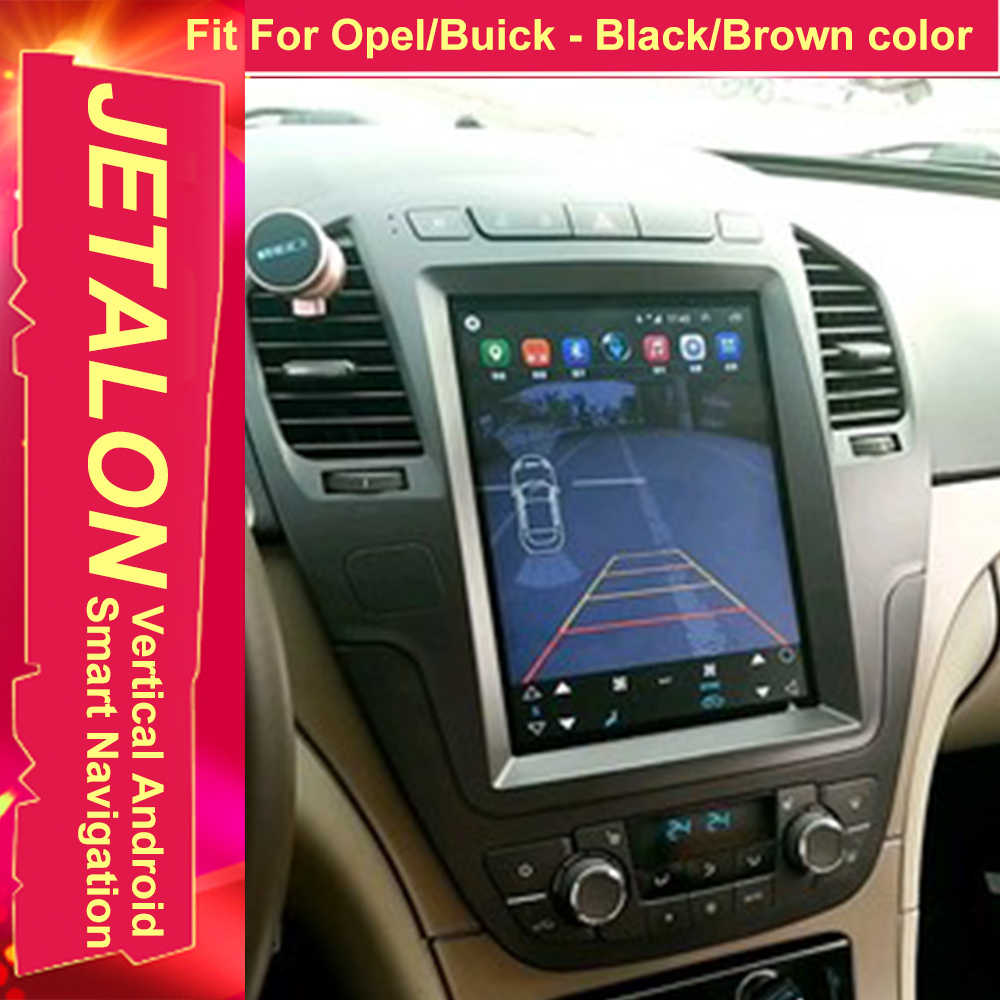 For Opel Insignia 2013 2012 2011 2010 Tesla Radio Android 9.0 Stereo GPS Car Multimedia Audio Player 4G Lte Network Navigation