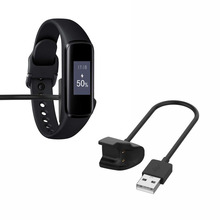 лучшая цена USB Charging Cable Cord Dock Charger Adapter Wire For Samsung Galaxy Fit-e R375 Smartband Wristband Watch SM-R375 Bracelet