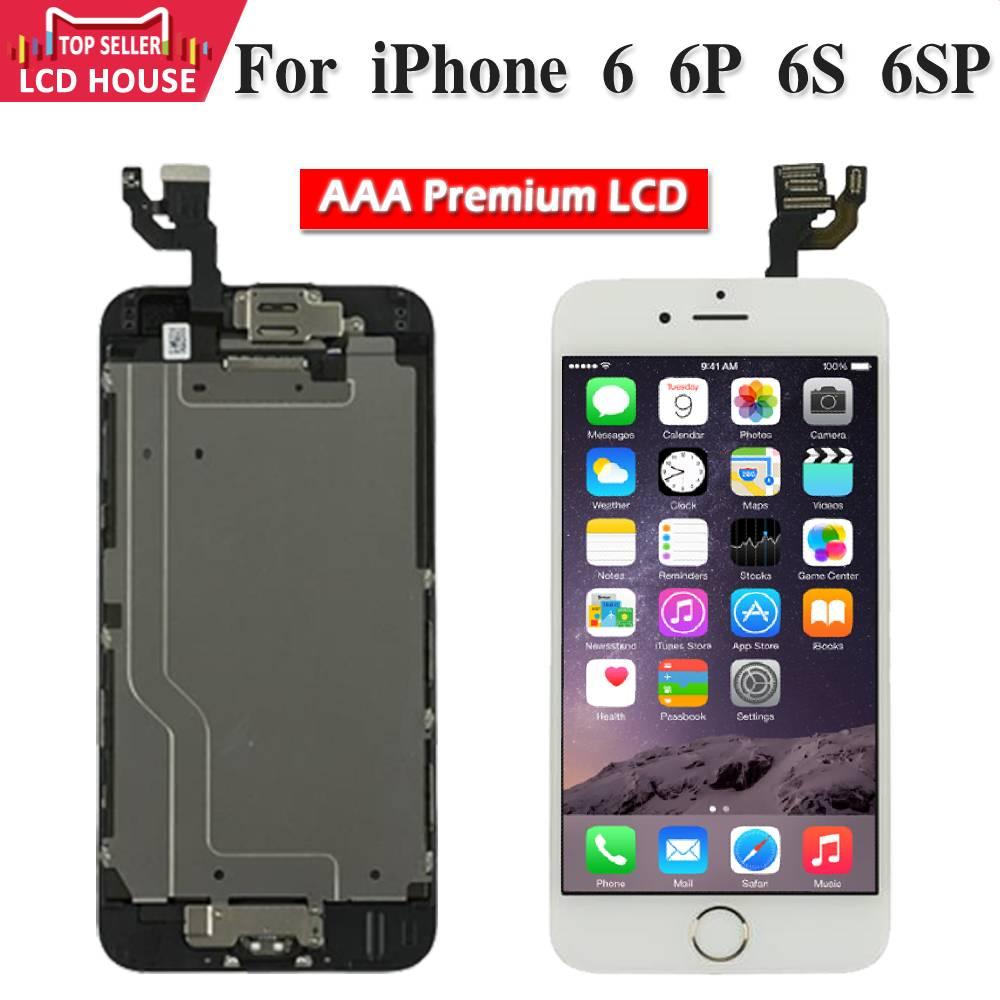 ЖК-экран с дигитайзером для iPhone 6, 6S Plus, 6P, 6SP