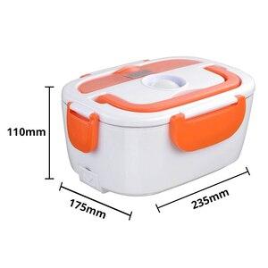 Image 5 - 220V Spina di UE per il Cibo Elettrica di Plastica di Calore Riscaldata Contenitore di Alimento Pasti Caldi Pranzo Al Sacco Portatile per la Scuola Ufficio di Riscaldamento scatola di pranzo
