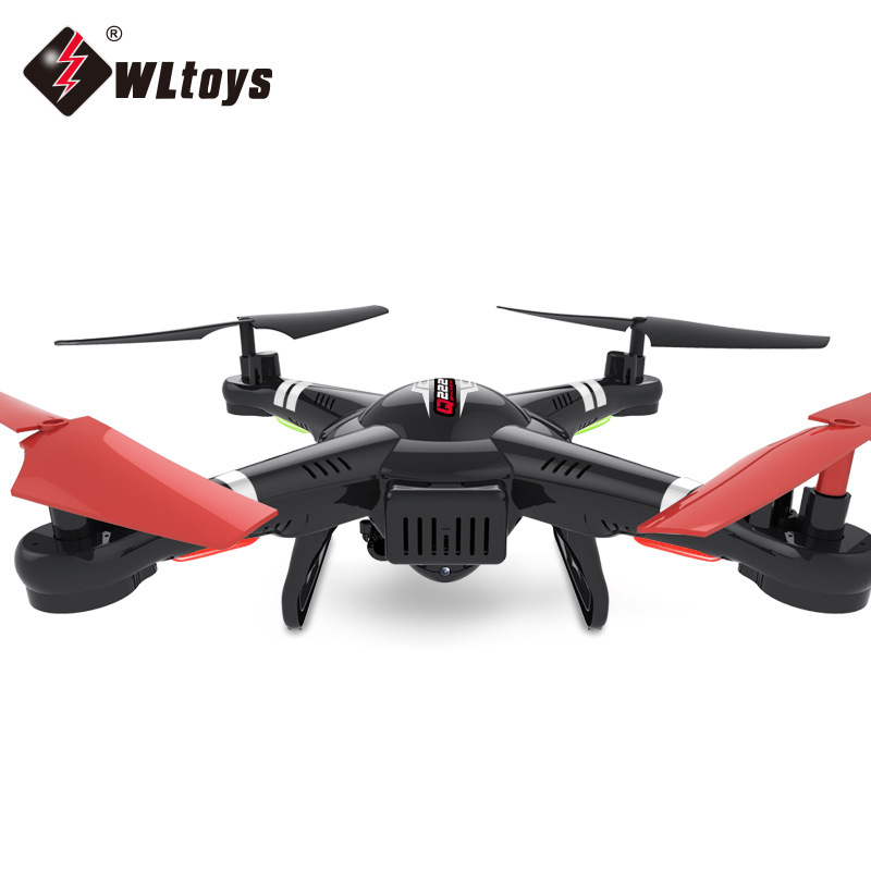 Weili Q222 Available With Drone For Aerial Photography 2.4G Remote Control Aircraft Pressure Set High Quadcopter Model Airplane