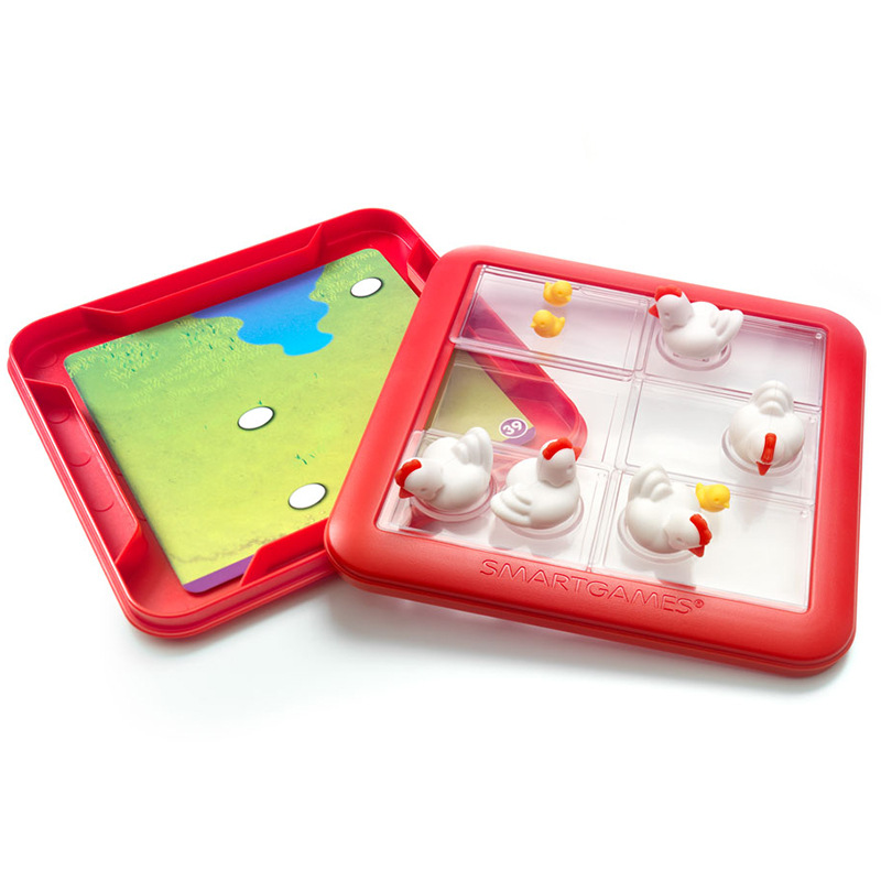 Belgium Smart Games Chicken Mother Nursing Cubs Remember Children'S Educational Toy Board Game Planning Capacity Dedicated 4-Yea