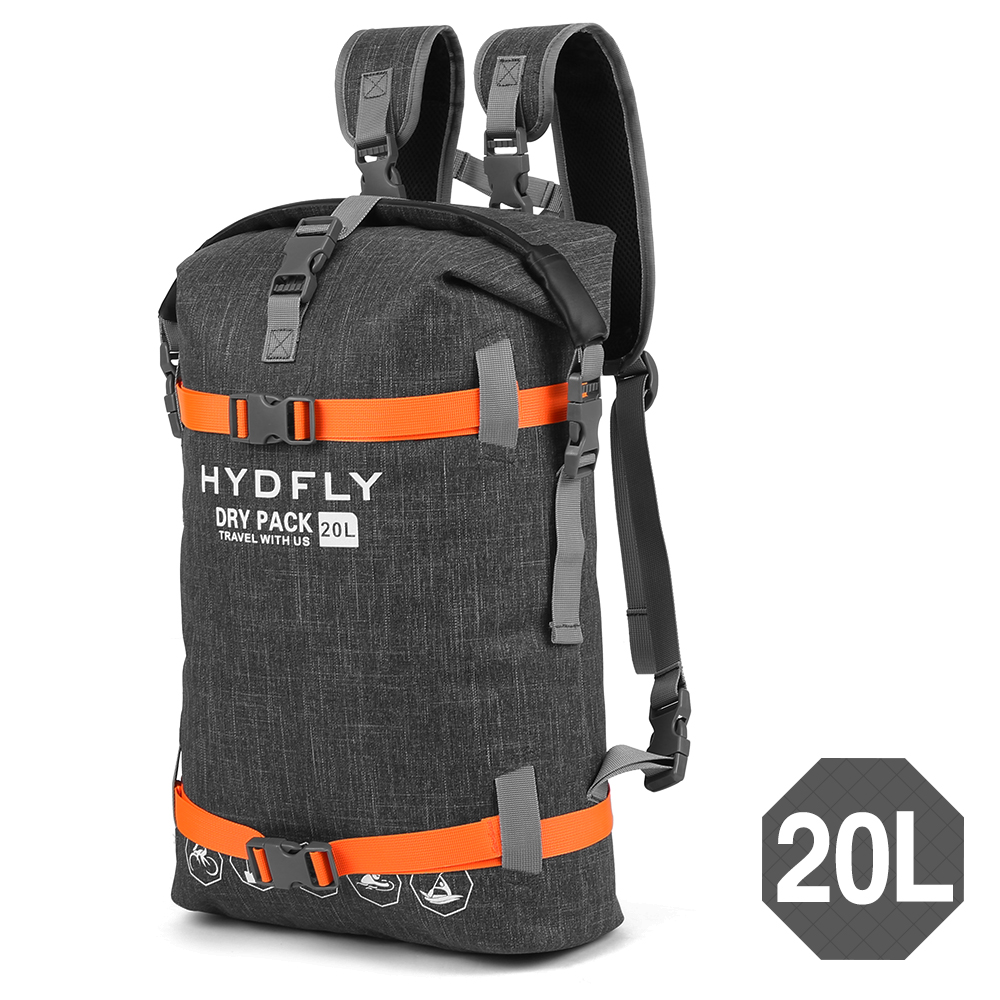 Waterproof Dry Bag Pack Sack 10L/15L/20L Swimming Bag Rafting Kayaking River Trekking Bag Floating Sailing Trekking Backpack