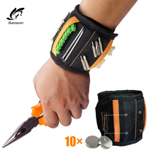Magnetic Wristband Portable-Tool-Bag Various-Tools Electrician-Wrist-Tool Multi-Function