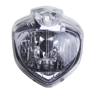 Image 2 - For Yamaha FZ6 FZ6N FZ 6N 2004 2005 2006 Motorcycle Headlight Set Head Light Headlamp Assembly w/ Turn Signals Rear View Mirrors