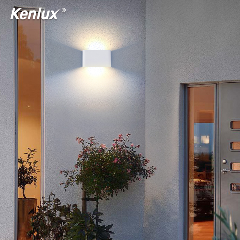 6W Aluminum Led Wall Lighting Waterproof Outdoor Indoor Porch LED Wall Lamp Garden Light Bedside Bathroom Stair Corrodor Light