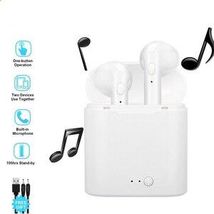 Image 2 - I7s TWS Không Dây Bluetooth 5.0 Tai Nghe Nhét Tai Thể Thao Tai Nghe Có Mic Hai Tai Gọi Cho Xiaomi iPhone tất Cả Các Dòng Điện Thoại