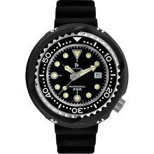 Cronos Для мужчин тунца для дайвинга наручные часы сапфировые