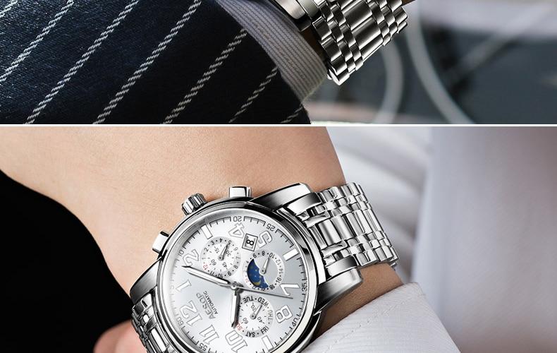 Hc316dc8e050048aea68a14196a88d76cu AESOP Luminous Automatic Mechanical Watch Men Luxury Brand Business Waterproof Stainless Steel Male Clock Relogio Masculino 2019