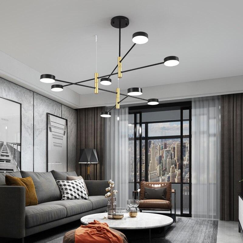 Nordic chandelier living room lamp ...