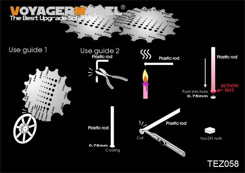 Voyager TEZ058 Scraper Tool W/Nuts Maker (GP)