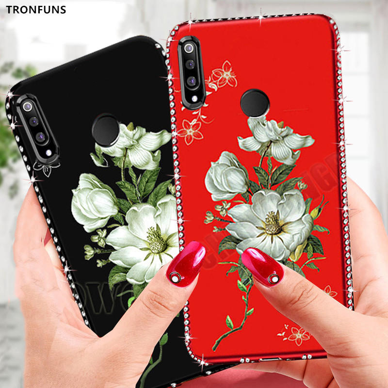 3D Relief Diamond <font><b>Case</b></font> For <font><b>Huawei</b></font> <font><b>Honor</b></font> 10i <font><b>20i</b></font> 10 20 Lite 8X 8C 8A 8S Pro Phone <font><b>Case</b></font> Soft Silicone TPU Cover Coque Fundas image