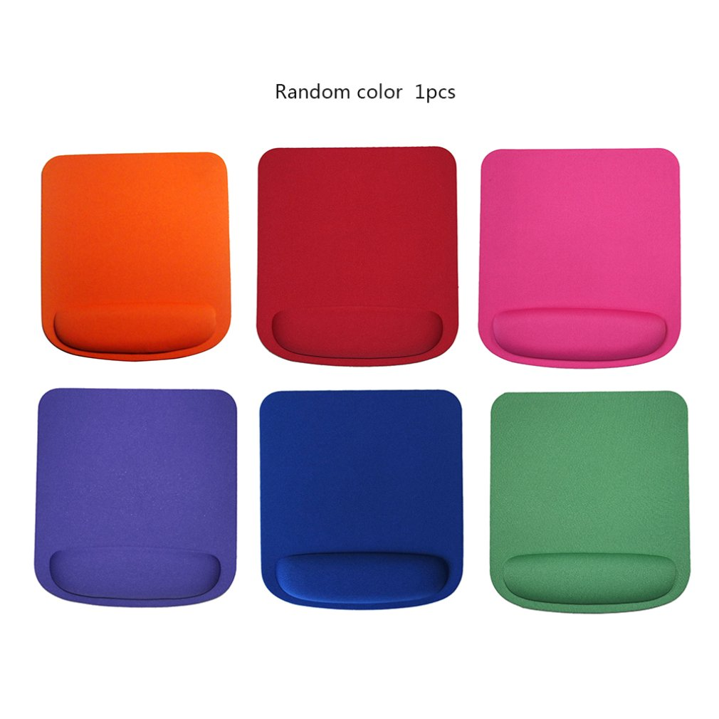 Big Cloth Soft Wristband Square Game Computer Mouse Pad Green Material Creative Game Mouse Pad Random