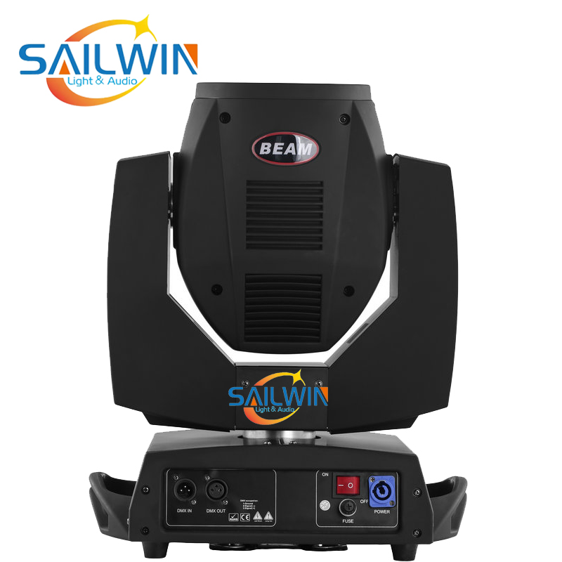 2X Beam 230W 7R Moving Head Light/ Beam 200 Beam 5R With 2in1 Flight Case DMX Stage Event Productions