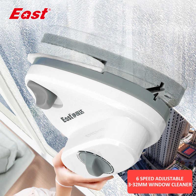 East V10 แม่เหล็ก 3-32 มม.Double-Sided Window CLEANER กระจกแม่เหล็กกระจกเครื่องมือทำความสะอาด
