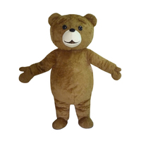 New Teddy Bear Mascot Costume Anime Cosplay Costume Christmas Halloween Birthday Party Free Shpping