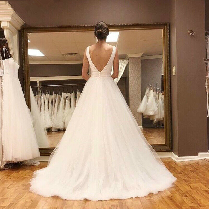 JIERUIZE-White-Tulle-Simple-Wedding-Dresses-2019-Deep-V-neck-Backless-Beach-Bride-Dresses-Wedding-Gowns (1)