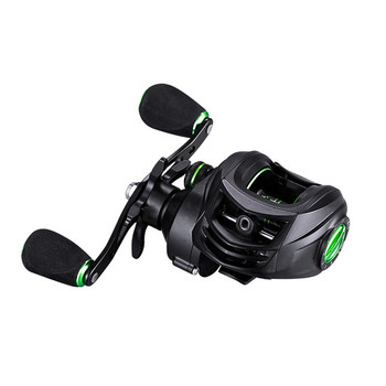 High Quality Fishing Reel 7.2:1 High Speed Gear Ratio Spinning Reel with Left Right Aluminum Spool Handle Fishing Reel