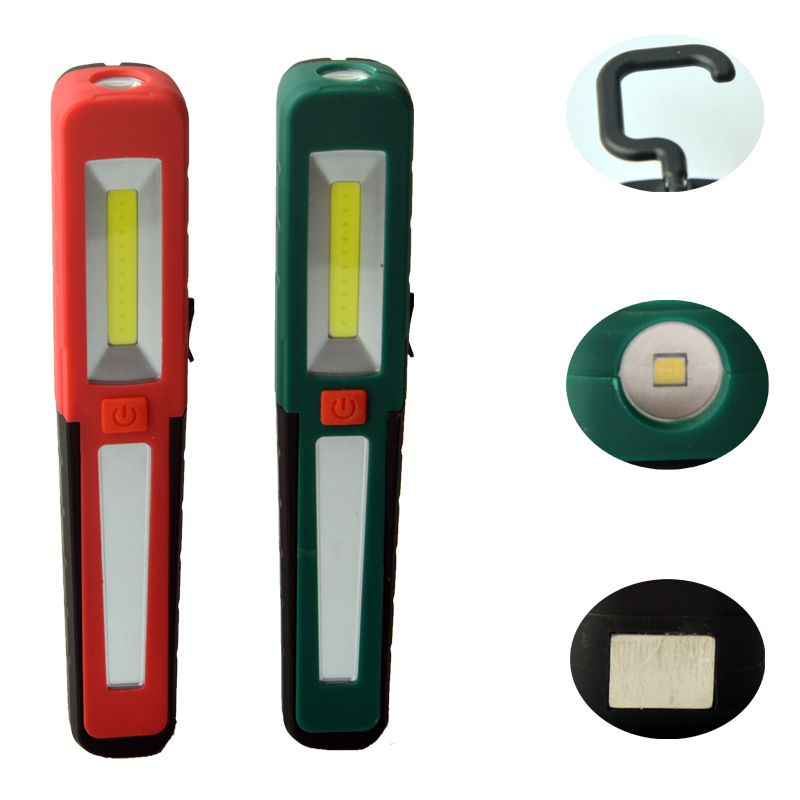 Cross Border Cob Emergency Light USB Rechargeable Camping Tent Light LED With Magnet Car Maintenance Lamp Penlight