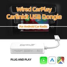 Carlinkit горячее яблоко проводной carplay usb адаптер для smart